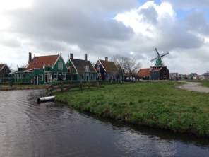 Windmolen at Zaanse Schan
