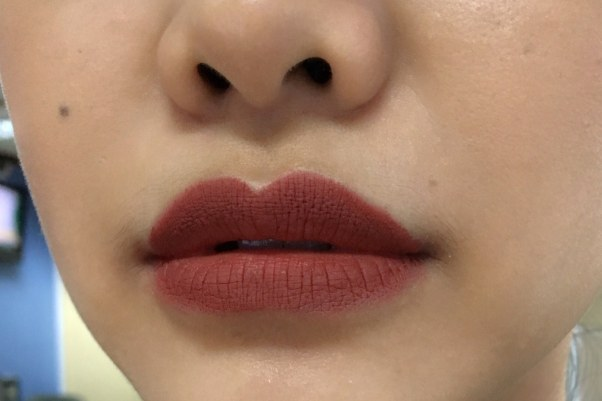 purbasari lipstick matte no.86 topaz