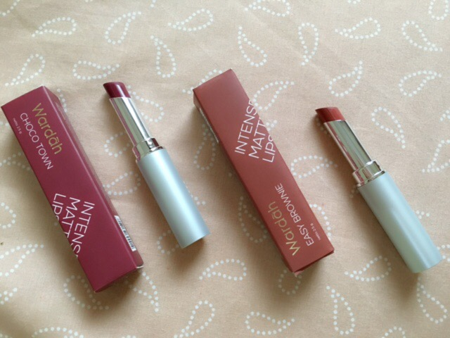 Wardah Intense Matte Lipstick Review Easy Brownie And Choco Town