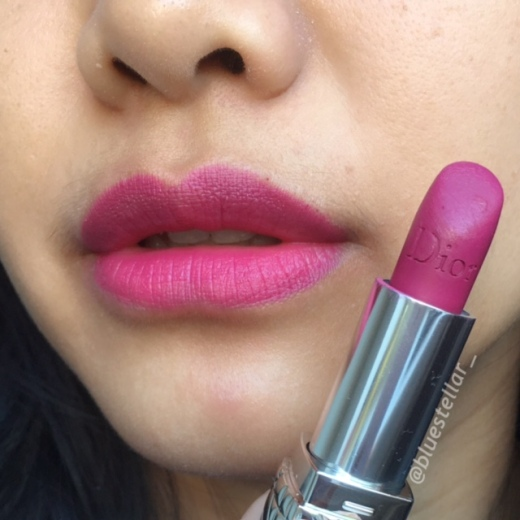 rouge dior lipstick mysterious matte