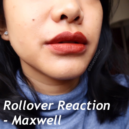 rollover reaction maxwell