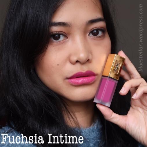 YSL Tatouage Fuchsia Intime